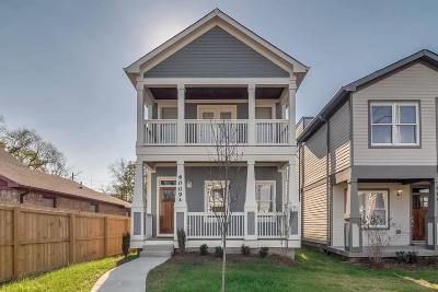 Nashville Single Family Home Under Contract - Showing: 6009 A Pennsylvania Ave