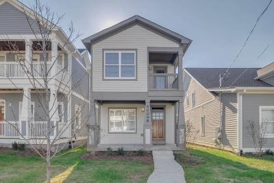 Nashville Single Family Home For Sale: 6009 B Pennsylvania Ave