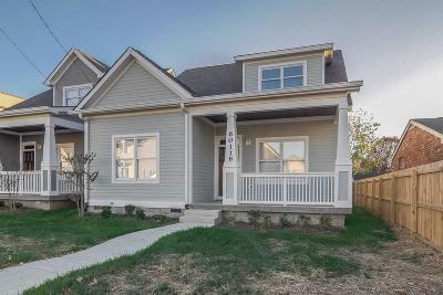 Nashville Single Family Home For Sale: 6011 B Pennsylvania Ave