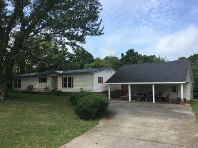 Ashland City Single Family Home Under Contract - Showing: 1300 Cagle Rd