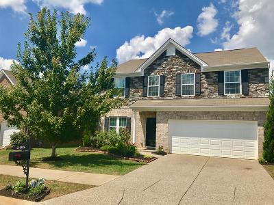 Nolensville Single Family Home Under Contract - Showing: 2405 Trivaca Ln
