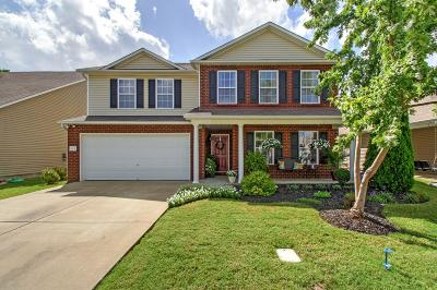 Murfreesboro Single Family Home Under Contract - Showing: 629 Creek Oak Dr