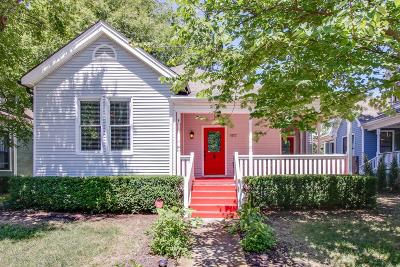 Nashville Single Family Home For Sale: 1517 Russell St