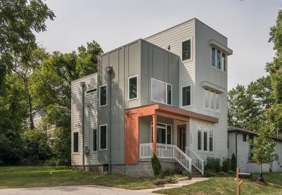 Nashville Single Family Home For Sale: 2443 Branch St.