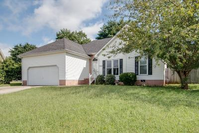 Single Family Home Under Contract - Showing: 1303 Barclay Ct