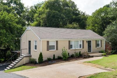Nashville Single Family Home For Sale: 3331 Dumas Dr