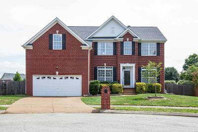 Franklin Single Family Home Under Contract - Showing: 402 Freesia Ct