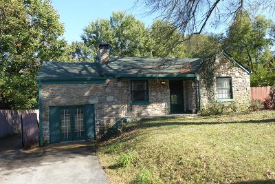 Nashville Single Family Home For Sale: 3804 Oxford St