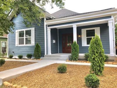 Nashville Single Family Home For Sale: 1623 Long