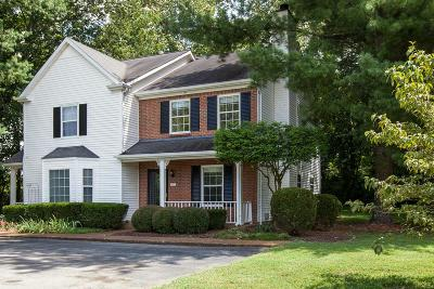Franklin Condo/Townhouse Under Contract - Showing: 510 Clearbrook Ct