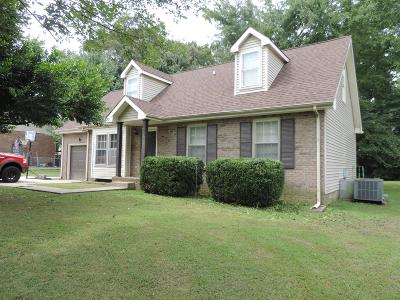 Clarksville Single Family Home For Sale: 332 Kelsey Dr