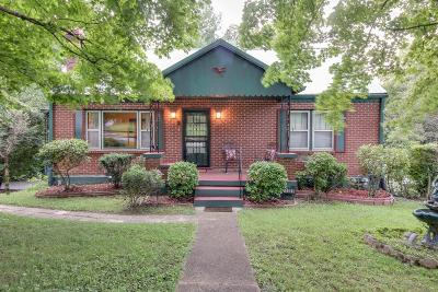 Nashville Single Family Home For Sale: 1338 Ardee Ave