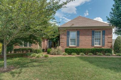 Brentwood Single Family Home Under Contract - Showing: 5426 Fredericksburg Way