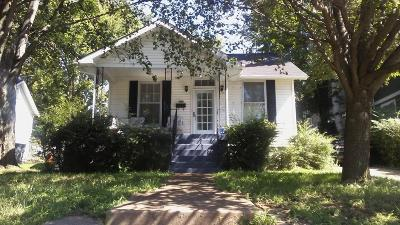 Nashville Single Family Home For Sale: 1006 Waverly Ave
