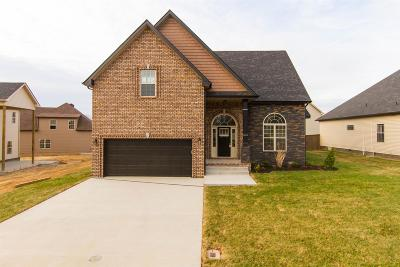 Clarksville Single Family Home For Sale: 105 Bentley Meadows