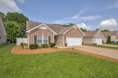 Spring Hill TN Single Family Home Under Contract - Showing: $199,900