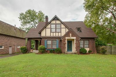 Nashville Single Family Home For Sale: 115 Cherokee Rd