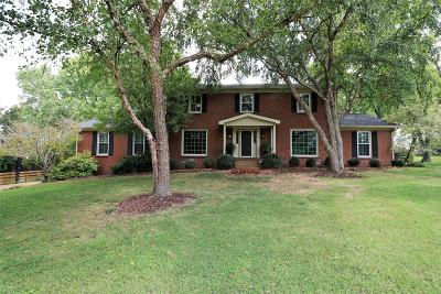 Brentwood, Franklin Single Family Home For Sale: 1612 Gordon Petty Dr