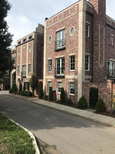 Nashville Condo/Townhouse Under Contract - Showing: 111 W End Close #111