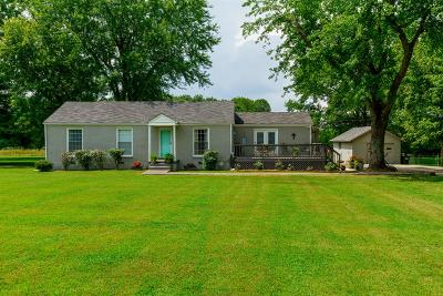 Joelton Single Family Home Under Contract - Showing: 3210 Union Hill Rd