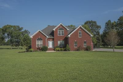 Rutherford County Single Family Home For Sale: 8699 Christiana Fosterville Rd