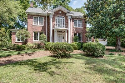 Nashville Single Family Home Under Contract - Showing: 3610 Valley Vista Rd