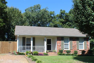 Hendersonville Single Family Home Under Contract - Showing: 258 Township Dr
