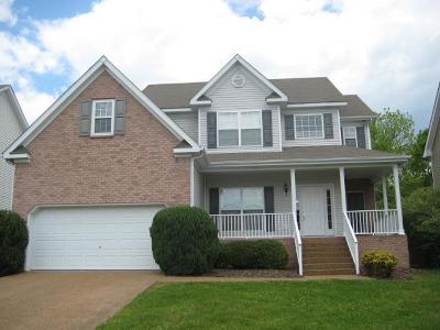 Thompsons Station  Rental Under Contract - Not Showing: 1327 Saybrook Crossing