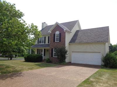 Thompsons Station  Rental For Rent: 2882 Iroquois Drive