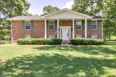 Brentwood Single Family Home For Sale: 1508 Lipscomb Dr
