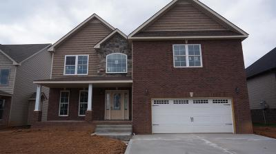 Clarksville Single Family Home Under Contract - Showing: 8 Griffey Estates