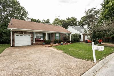 Hendersonville Single Family Home Under Contract - Showing: 105 Cardinal Ln