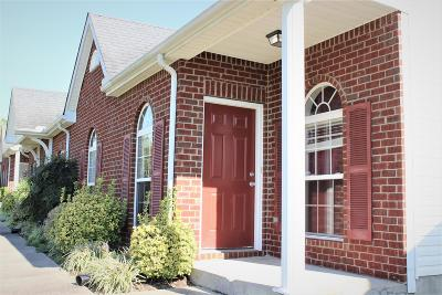 Spring Hill Condo/Townhouse For Sale: 1022 Briggs Ln