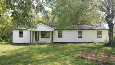 Rockvale Single Family Home For Sale: 1055 Coleman Hill Rd