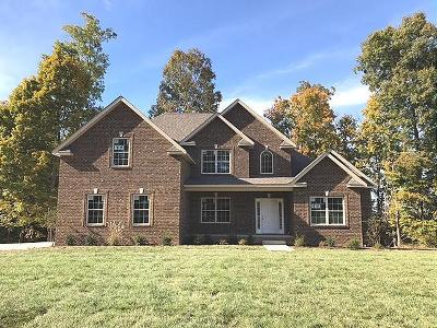 Christian County, Ky, Todd County, Ky, Montgomery County Single Family Home Under Contract - Showing: 1951 Winsome Ln(Lot 11)