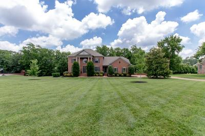 Franklin Single Family Home For Sale: 2145 Summer Hill Circle