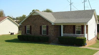 Clarksville TN Single Family Home For Sale: $127,000