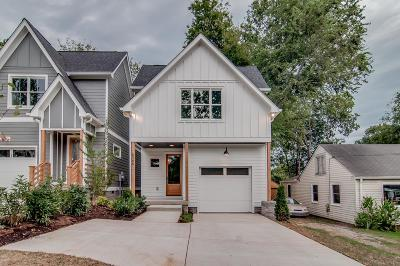 Nashville Single Family Home For Sale: 6366 A Alamo Place
