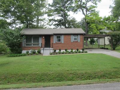 Franklin Single Family Home Under Contract - Showing: 105 Cothran Dr