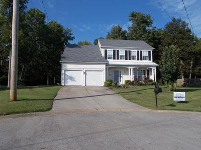 Mount Juliet Single Family Home For Sale: 2214 Cardiff Lane