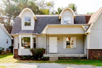 Davidson County Single Family Home Under Contract - Showing: 3215 Lakeford Dr