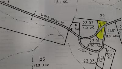 Christian County, Ky, Todd County, Ky, Montgomery County Residential Lots & Land For Sale: 3125 Sugar Creek Rd