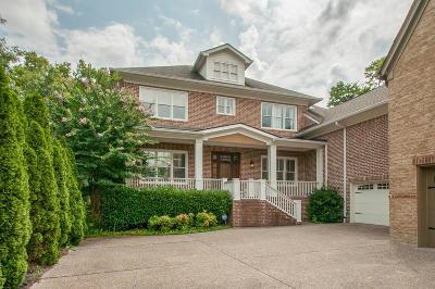 Nashville Single Family Home For Sale: 2007 B Overhill B