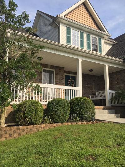 Clarksville Single Family Home Under Contract - Not Showing: 243 Cullom Way