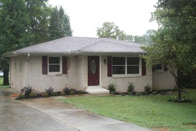 Gallatin Single Family Home Under Contract - Showing: 320 Patterson Drive