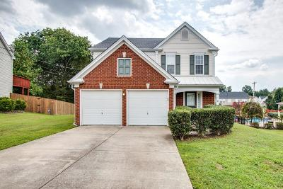 Mount Juliet Single Family Home Under Contract - Showing: 2202 Cardiff Ln