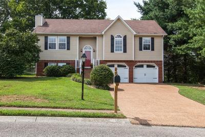 Spring Hill  Single Family Home For Sale: 1707 Dorset Ct
