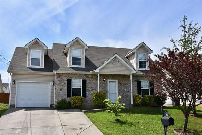 Lavergne Single Family Home Under Contract - Showing: 224 Mary Joe Martin Dr