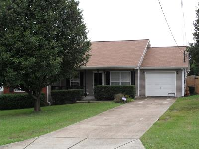 Lavergne Single Family Home Under Contract - Showing: 346 Davids Way