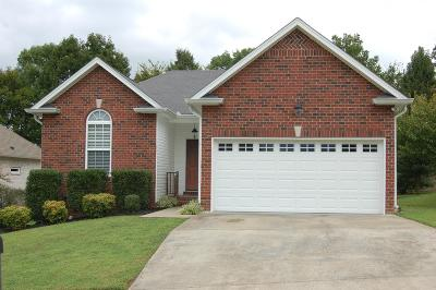 Gallatin Single Family Home Under Contract - Showing: 969 Chesire Way